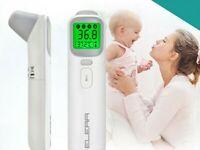 bébé thermomètre infrarouge numérique LCD mesure du corps front oreille fièvre