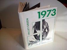 1973 PASSAIC VALLEY HIGH SCHOOL Little Falls New Jersey NJ VALLEY GREEN Yearbook