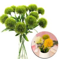 1PC Plastic Artificial Fake Dandelion Dried Flowers Wedding Party Decor 34CA