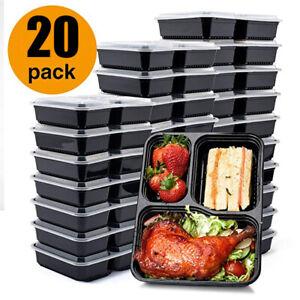 20 Stück Frischhaltedosen Set Klick-It Gefrierdosen Lunchbox Mikrowelle Brotdose