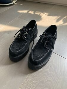 Underground Suede Black Brothel Creepers. Size 5. Worn Once.