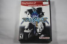 Soul Calibur II (Sony Playstation 2 ps2) NEW Factory Sealed Mint