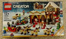 NEW SEALED Lego Creator Winter Village 10245 Santa's Workshop NISB