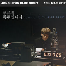 ▶◀SHINEE JONGHYUN BLUE NIGHT DIGIPAK MBC RADIO FM4U 2CD+Photo Book