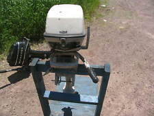 Johnson  5  hp OUTBOARD Boat Freshwater
