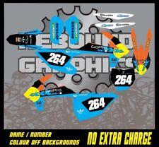 KTM 1999-2019 SX SXF XC EXC MOTORCROSS graphics kit 50 65 85 125 150 250 450 ktm