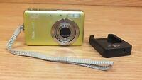 Genuine HP Photosmart (R742) Green Digital Camera With 3x Optical Zoom *READ*