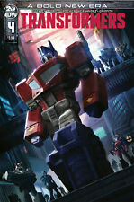 TRANSFORMERS #4 COVER A - (IDW) - 1ST PRINT - BAGGED AND BOARDED. FREE UK P+P