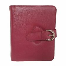 Franklin Covey Ava Leather Binder Compact Plum 6 Inches X 75 X 125
