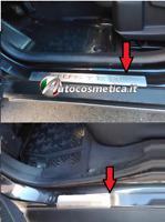 Modanatura battitacco protezione soglie ingresso acciaio Dacia Duster 14-19-