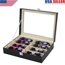 e3dcb3724d09 8 Grid Eye Glasses Case Eyewear Sunglasses Display Storage Box Holder  Organizer