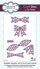 Creative Expression Finishing Touches Dotty 3D Itty Bitty Bow CED1409 Sue Wilson