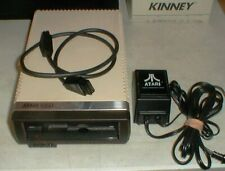 Vintage Original ATARI 1050 Floppy Disk Drive w/Power-Connector Cable & 3-Books