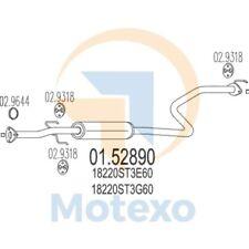 MTS 01.52890 Exhaust HONDA Civic 1.4i 16V 90bhp 11/95 - 09/98