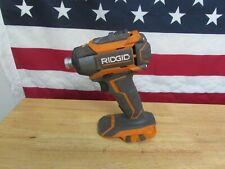 "Ridgid Model R86035 Impact Drill/Driver 1/4"" 800"