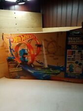 COOL! Hot Wheels Track & Builder 35+pc System Power Booster Kit