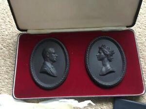 Wedgwood Limited Edition Black Basalt Medallions