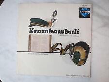 Krambambuli - Studentenlieder in froher Runde - Schallplatte / Studentika