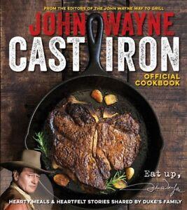 John Wayne Cast Iron Official Cookbook [New Book] Paperback