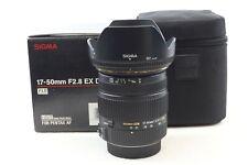 Sigma 17-50 mm F2.8 HSM EX DG OS Objectif Pentax Fit lanceur Mount-BB 572 -