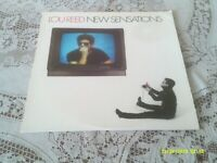 LOU REED. NEW SENSATIONS. RCA. AFL1-4998. 1984. FIRST PRESSING.