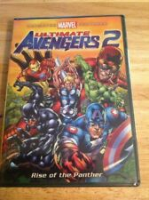 Ultimate Avengers 2: Rise of the Panther (DVD, 2006)NEW Authentic US RELEASE