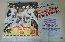 CANT STOP THE MUSIC The Village People ORIGINAL CINEMA FILM POSTER 1980 Y M C A