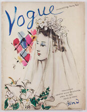 CHRISTIAN BERARD Country House WEDDINGS in VOGUE magazine April 1937 Vanity Fair