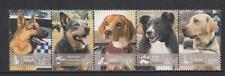2008 Australian Decimal Stamps - Working Dogs - MNH Strip of 5 stamps