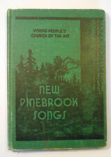 Religious 30s HYMNAL SONG Book HC New PINEBROOK-Church of the AIR-hymns