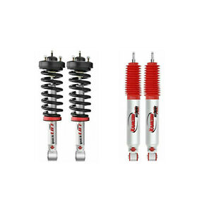 Rancho Front Quicklift Struts RS9000XL Rear Shocks For Toyata Tundra 4WD