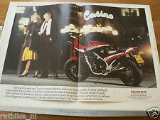 A209-HONDA VF1000 P ? MOTO BIKE 1985 POSTER MOTORRAD BIKE