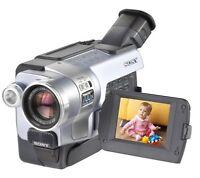 Sony Digital8 Camcorder DCR-TRV350 / Sony Handycam Digital8 Player / Hi8 Video