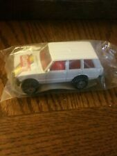 New listing Hot Wheels Range Rover Getty White Land Rover 1989 Gasoline Promotion in Plastic