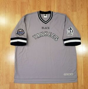 Vintage New York Black Yankees Profesional Negro League Baseball Jersey Mens 4XL