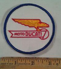 Vintage Moto Ducati Motorcycle Patch Eagle Logo Biker