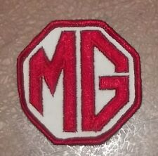 Vintage MG Motors  Patch Embroidered Sew on
