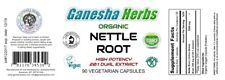 100% Pure Organic Stinging NETTLE ROOT High Potency 20:1 Extract 90 Capsules