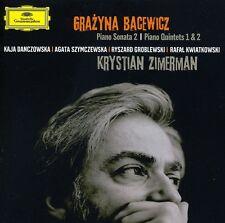 Krystian Zimerman, G - Piano Sonata No 2 / Quintets Nos 1 & 2 [New CD]