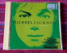 Michael Jackson ~ Invicible ( Green Cover ) ( Malaysia Press ) Cd