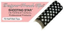 Shooting Star Designer French Nail Tips - DT104 (70 ct)