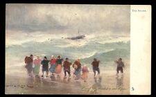 Storm artist drawn Professor Van Hier Tuck 2573 Vintage u/b PPC gold edged
