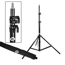 PBL Compact Portable  Pro Light Stand Heavy Duty 10' All Metal Locking Collars