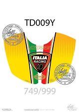 DUCATI 749 / 999 Tank Pad YELLOW (TD009Y)