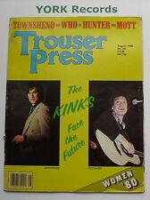 TROUSER PRESS MAGAZINE - Issue 53 - August 1981 - Kinks / Women '80 / Selecter