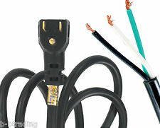 NEMA 5-15 Power Supply Cord 9 Ft 2P 3W 15A 125V 90 Degree Angle Plug 14-3 SJTO