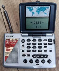 Sony ICF-SW07 FM Stereo/SW/MW/LW PLL receiver fully working