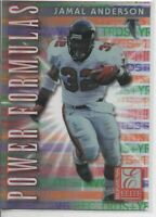1999 DONRUSS ELITE JAMAL ANDERSON POWER FORMULAS #rd 3500