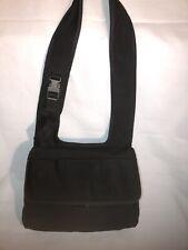 MIU MIU Vintage Black Nylon Shoulder Bag