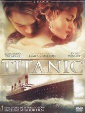 TITANIC (DVD) CON LEONARDO DI CAPRIO E KATE WINSLET - NUOVO, ITALIANO, ORIGINALE